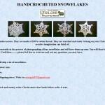 Hancrocheted Snowflakes