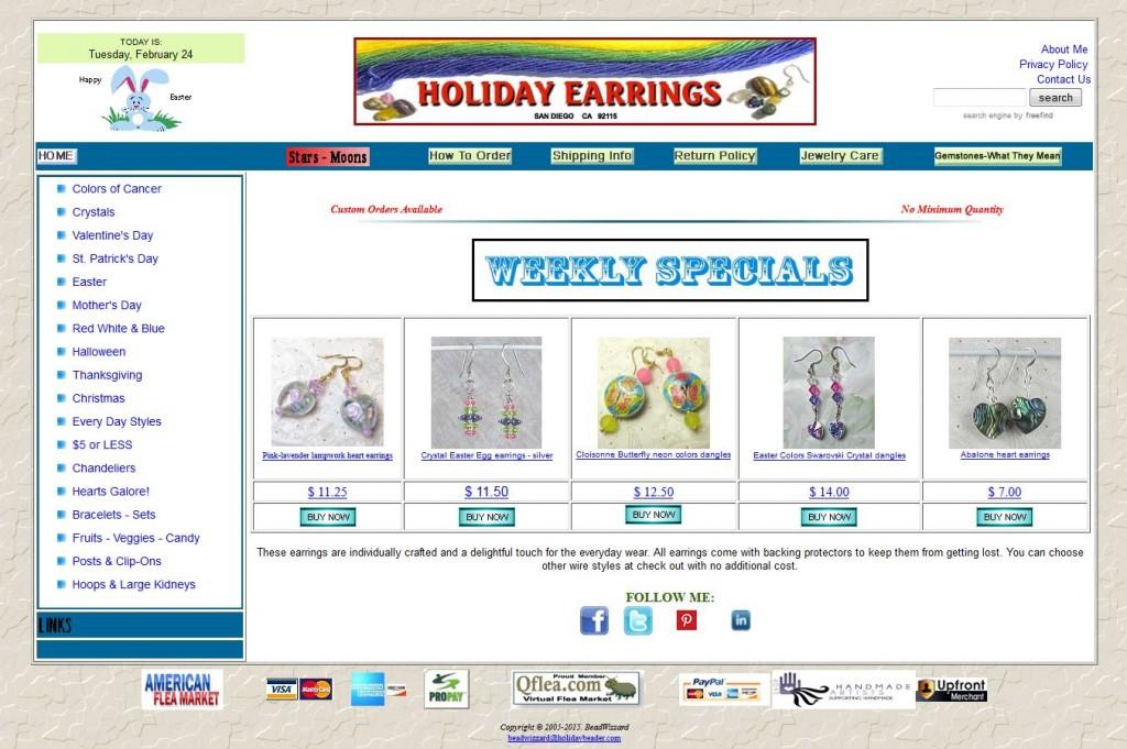 Holiday Earings